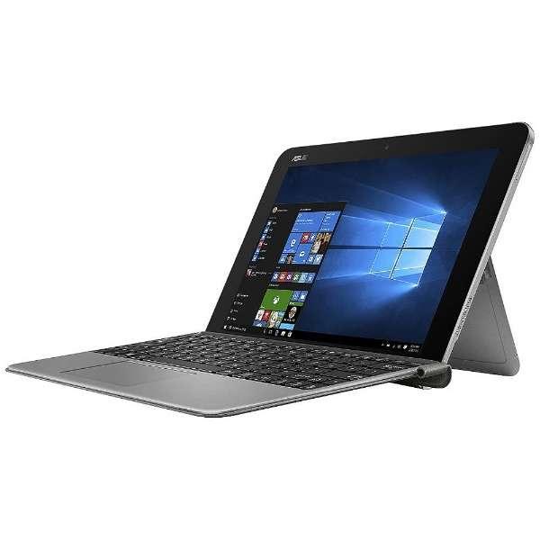 T102HA-128S ノートパソコン TransBook Min グレー [10.1型 /intel Atom /eMMC:128GB /メモリ:4GB /2016年9月モデル]