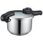 《IH対応》クイックエコ 3層底切り替え式圧力鍋 5.5L H5042