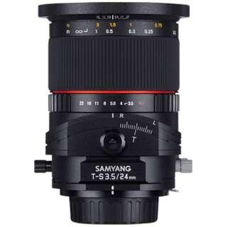 カメラレンズ T-S 24mm F3.5 ED AS UMC TILT-SHIFT ブラック [マイクロフォーサーズ /単焦点レンズ]