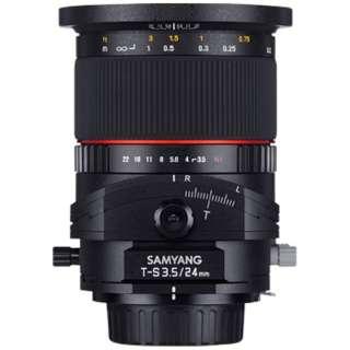 カメラレンズ T-S 24mm F3.5 ED AS UMC TILT-SHIFT フルサイズ対応 ブラック [キヤノンEF-M /単焦点レンズ]