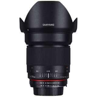 カメラレンズ 24mm F1.4 ED AS IF UMC フルサイズ対応 ブラック [キヤノンEF /単焦点レンズ]