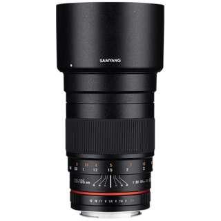 カメラレンズ 135mm F2.0 ED UMC フルサイズ対応 ブラック [キヤノンEF-M /単焦点レンズ]