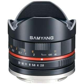カメラレンズ 8mm F2.8 UCM FisheyeII APS-C用 ブラック [キヤノンEF-M /単焦点レンズ]