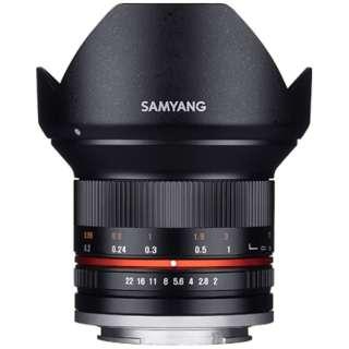 カメラレンズ 12mm F2.0 NCS CS APS-C用 ブラック [キヤノンEF-M /単焦点レンズ]