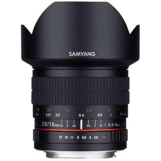 カメラレンズ 10mm F2.8 ED AS NCS CS AE APS-C用 ブラック [ニコンF /単焦点レンズ]