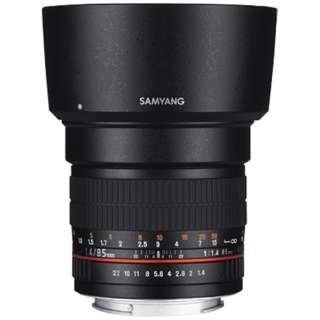 カメラレンズ 85mmF1.4 AS IF UMC フルサイズ対応 ブラック [キヤノンEF /単焦点レンズ]