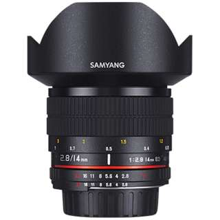カメラレンズ 14mmF2.8 ED AS IF UMC フルサイズ対応 ブラック [ソニーA(α) /単焦点レンズ]