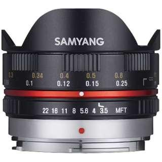 カメラレンズ 7.5mm3.5 UMC Fish-eye ブラック [マイクロフォーサーズ /単焦点レンズ]