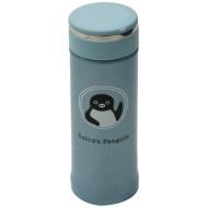 Penguin stainless steel mug bottle (blue) of Suica 8905