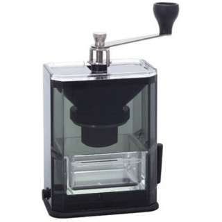 MXR-2TB クリアコーヒーグラインダー 透明ブラック