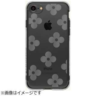 iPhone 7用 ソフトTPUケース フラワー Highend Berry