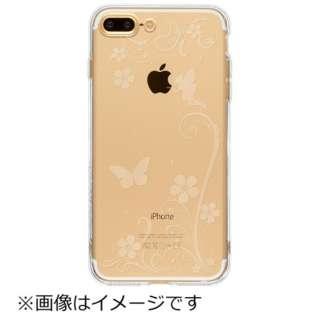 iPhone 7 Plus用 ソフトTPUケース パラダイス Highend Berry