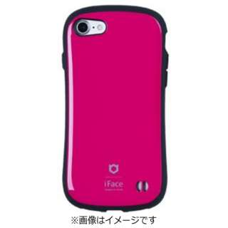 iPhone 7用 iface First Classケース ホットピンク