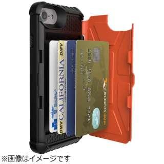 half off 0296e 4e9f8 ビックカメラ.com - iPhone 7用 Trooper Case カード収納 ラスタ URBAN ARMOR GEAR  UAG-RIPH7N-RST