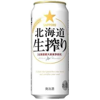 北海道生搾り (500ml/24本)【発泡酒】
