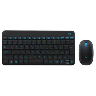 MK245nBK ワイヤレスキーボード・マウス NANO ブラック [USB /ワイヤレス]