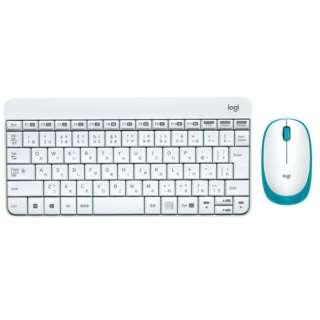 ワイヤレスキーボード[USB 2.4GHz・Win/Chrome]&マウス MK245 NANO(ホワイト) MK245nWH