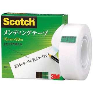 3M メンディングテープ 18mmX30m 巻芯径25mm 810-1-18
