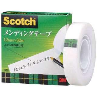 3M メンディングテープ 12mmX30m 巻芯径25mm 810-1-12