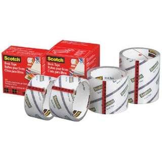 3M 透明ブックテープ厚手 38.1mmX13.7m 845 38