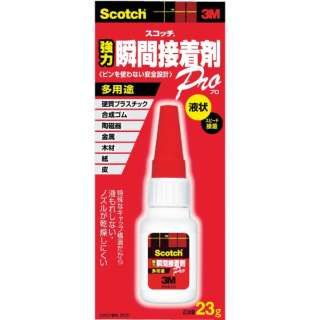3M スコッチ 強力瞬間接着剤 多用途 23g 7070