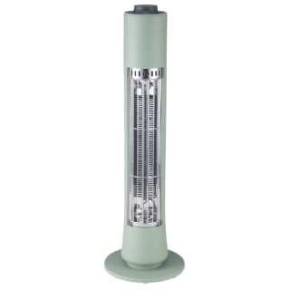 CBT-1632 電気ストーブ Figaro(フィガロ) グリーン [カーボンヒーター]