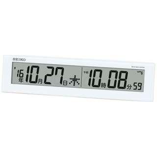 電波置掛兼用時計 SQ779W