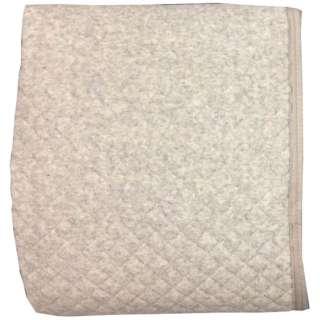 【敷パッド】杢パイル ポコポコ敷パッド セミダブルサイズ(120×205cm/グレー)