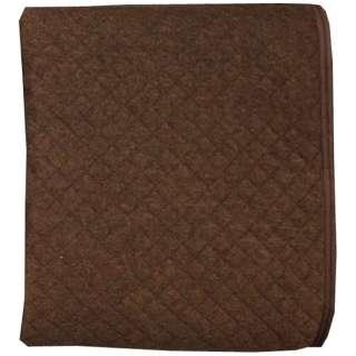 【敷パッド】杢パイル ポコポコ敷パッド セミダブルサイズ(120×205cm/ブラウン)