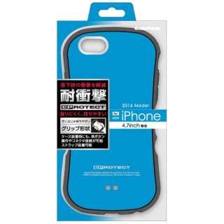 iPhone 7用 ケース EPROTECT ブルー TPS07EL