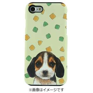iPhone 7用 TOUGH CASE Animal Series Food & Beagle Fantastick I7N06-16C787-02