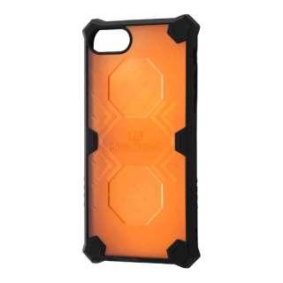 iPhone 7用 クラッシュレジストケース クリアオレンジ RT-P12SC2/CO