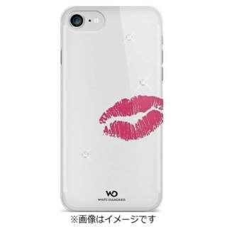 iPhone 7用 クリアケース Lipstick Kiss 1340LIP60