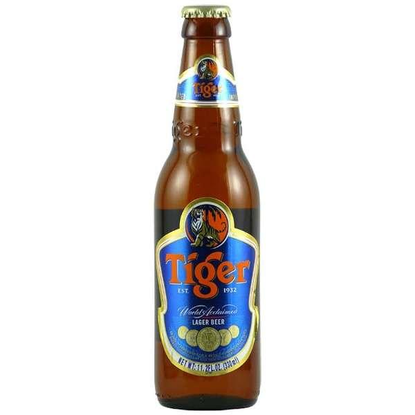 シンガポール タイガー ビール 330ml瓶 24本 【クラフトビール】 通販 ビック酒販