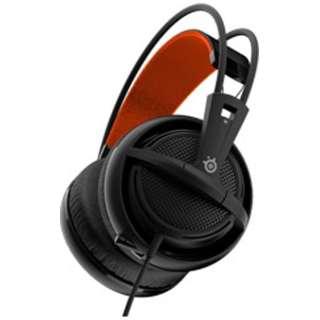 51133 ゲーミングヘッドセット Siberia 200 ブラック [φ3.5mmミニプラグ /両耳 /ヘッドバンドタイプ]