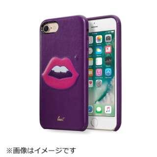 iPhone 7用 LAUT KITSCH モンロー パープル LAUTIP7KHPU