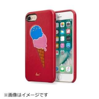 iPhone 7用 LAUT KITSCH スプリンクル レッド LAUTIP7KHR