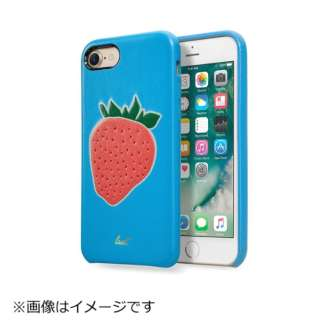iPhone 7用 LAUT KITSCH フレーズ ブルー LAUTIP7KHBL