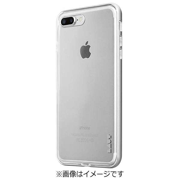 iPhone 7 Plus用 LAUT EXOFRAME シルバー LAUTIP7PEXSL