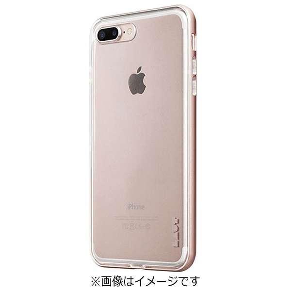 iPhone 7 Plus用 LAUT EXOFRAME ローズゴールド LAUTIP7PEXRG