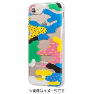 iPhone 7用 LAUT POP-CAMO ビーチ LAUTIP7PCB