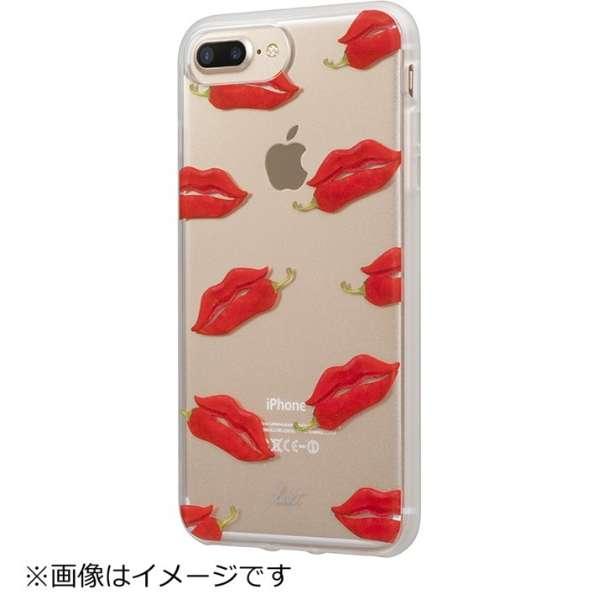 iPhone 7 Plus用 LAUT POP-INK Hotlips LAUTIP7PPIH