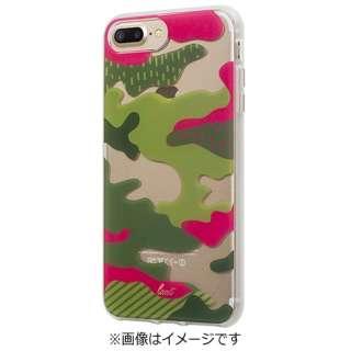 iPhone 7 Plus用 LAUT POP-CAMO トロピカル LAUTIP7PPCT