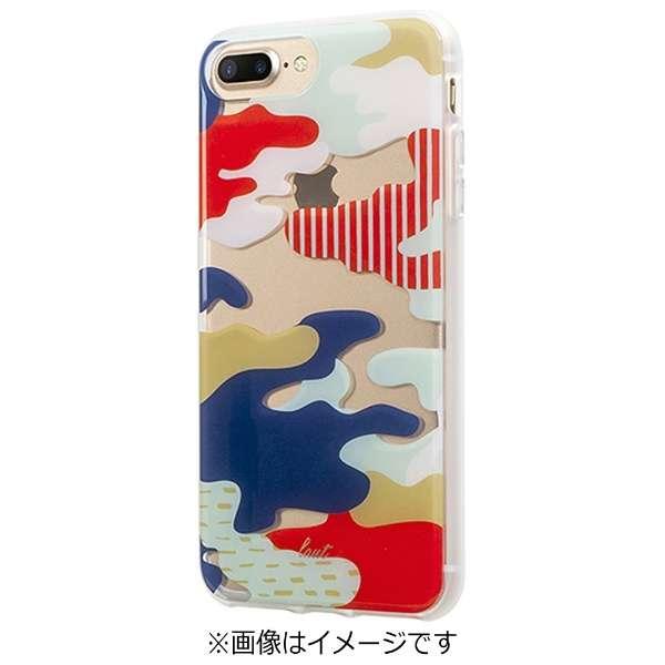 iPhone 7 Plus用 LAUT POP-CAMO ジャパン LAUTIP7PPCJ