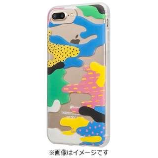 iPhone 7 Plus用 LAUT POP-CAMO ビーチ LAUTIP7PPCB