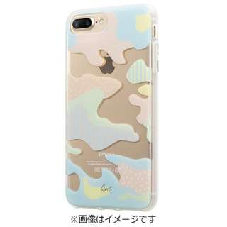 iPhone 7 Plus用 LAUT POP-CAMO パステル LAUTIP7PPCP