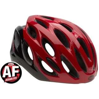自転車用ヘルメット DRAFT アジアンフィット (レッド×ブラックリポーズ/UAF:54~61cm) 7074669