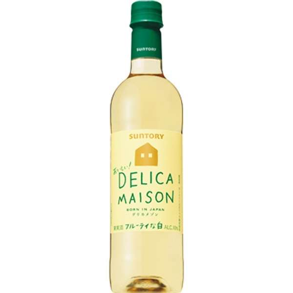 [国産ワイン] デリカメゾンペット 白 720ml【白ワイン】