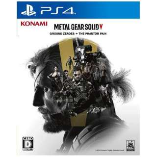 METAL GEAR SOLID V: GROUND ZEROES + THE PHANTOM PAIN【PS4ゲームソフト】