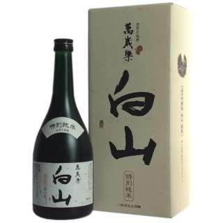 萬歳楽 特別純米 白山 720ml【日本酒・清酒】